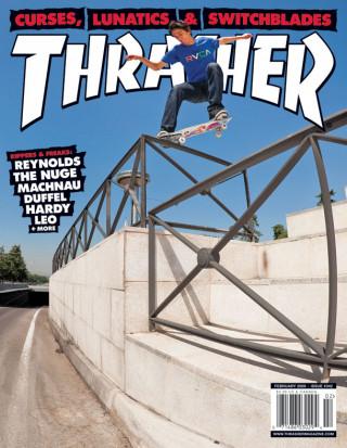 covers - Thrasher, February 2009