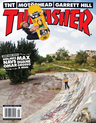 covers - Thrasher, January 2009