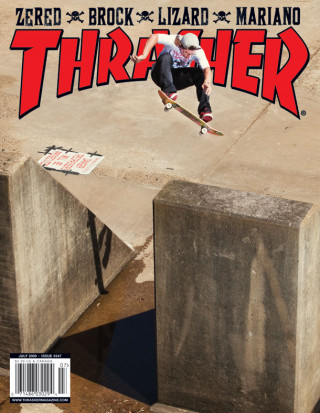covers - Thrasher, July 2009
