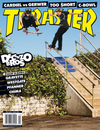 covers - Thrasher, May 2009