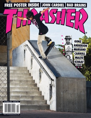 covers - Thrasher, October 2009