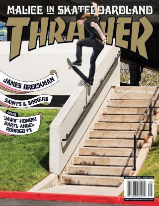 covers - Thrasher, September 2009