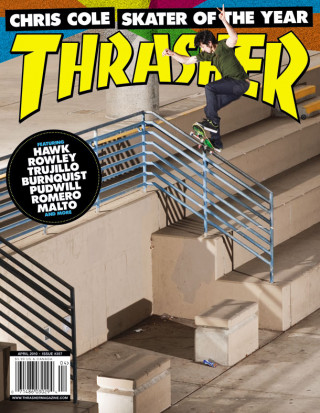 Thrasher, April 2010