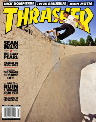 covers - Thrasher, August 2010