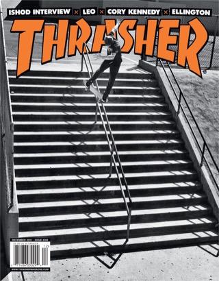 covers - Thrasher, December 2010