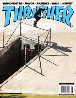 covers - Thrasher, June 2010