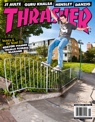 covers - Thrasher, November 2010