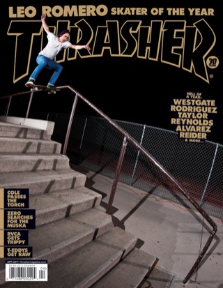 covers - Thrasher, April 2011