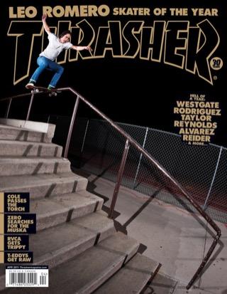 Thrasher, April 2011