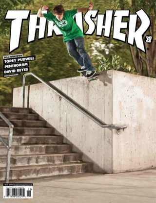 covers - Thrasher, August 2011