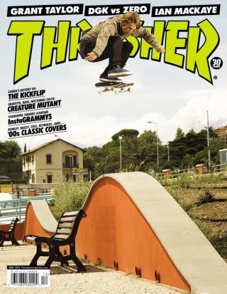 covers - Thrasher, December 2011