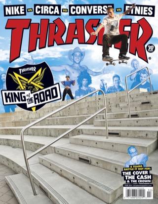 covers - Thrasher, February 2011