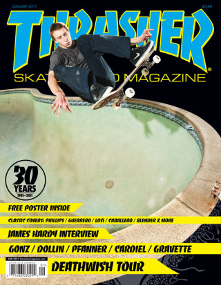 covers - Thrasher, January 2011