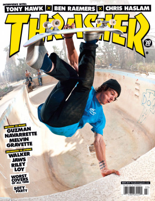 covers - Thrasher, March 2011
