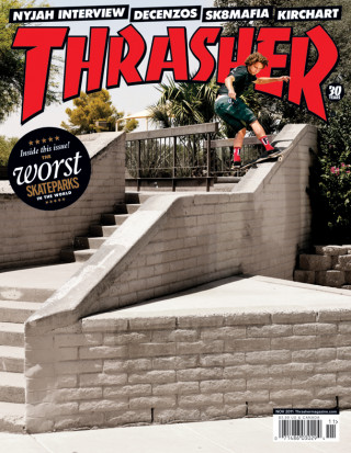 covers - Thrasher, November 2011