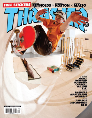 covers - Thrasher, October 2011