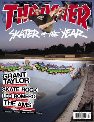 covers - Thrasher, April 2012