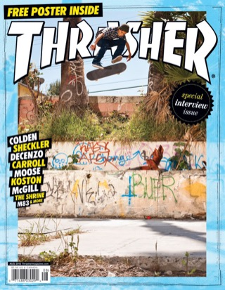 covers - Thrasher, August 2012