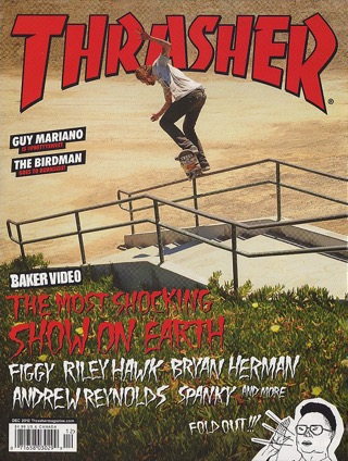 covers - Thrasher, December 2012