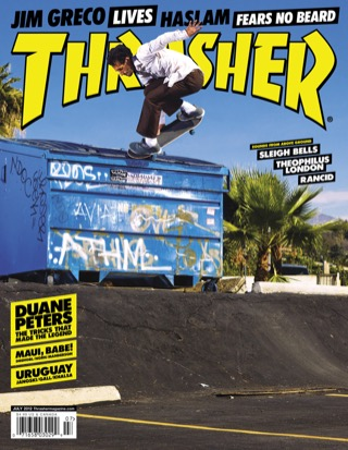 covers - Thrasher, July 2012