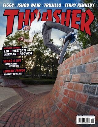 covers - Thrasher, November 2012