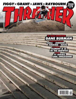 covers - Thrasher, August 2013