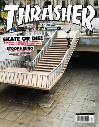 covers - Thrasher, December 2013