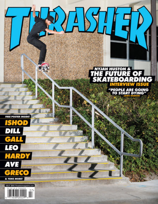 Thrasher, July 2013