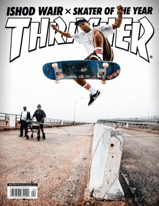 covers - Thrasher, April 2014