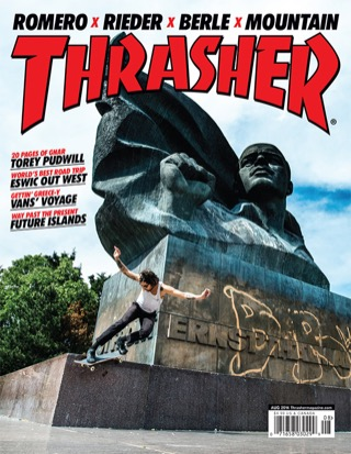 covers - Thrasher, August 2014
