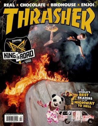 covers - Thrasher, February 2014