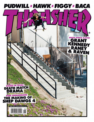 covers - Thrasher, June 2014