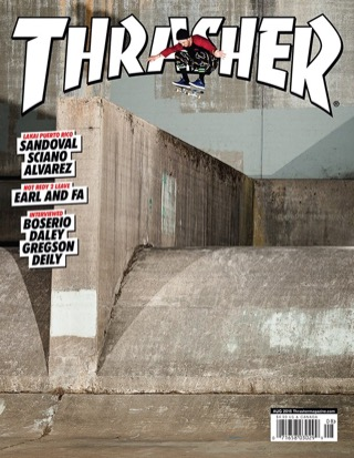 covers - Thrasher, August 2015
