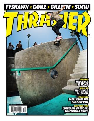 covers - Thrasher, December 2015