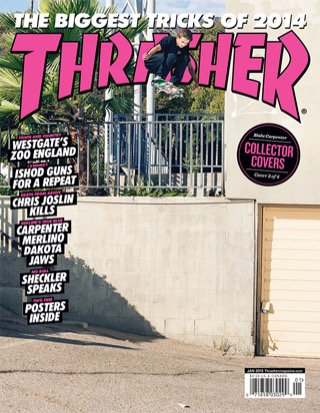 covers - Thrasher, January 2015