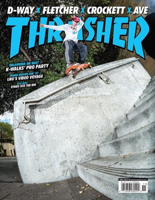 covers - Thrasher, November 2015