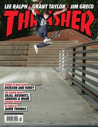 Thrasher, October 2015