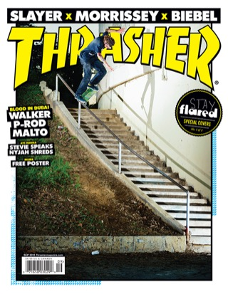 covers - Thrasher, September 2015