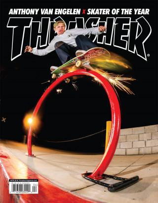 covers - Thrasher, April 2016