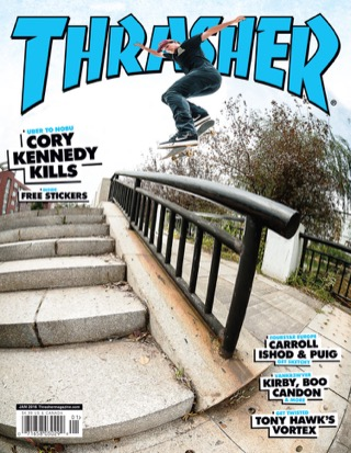 covers - Thrasher, January 2016