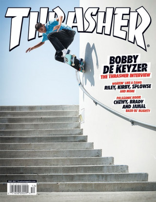covers - Thrasher, December 2017