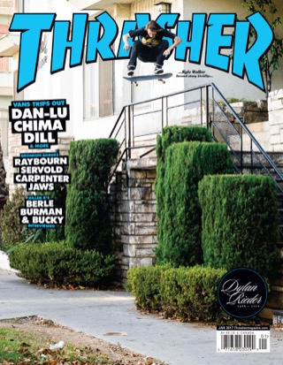 covers - Thrasher, January 2017