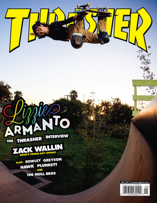 covers - Thrasher, May 2017