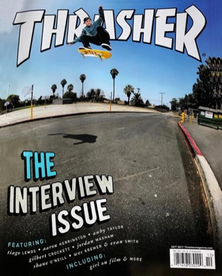 covers - Thrasher, October 2017