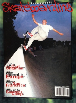 covers - Transworld, February 1994