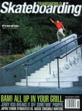 covers - Transworld, November 2000