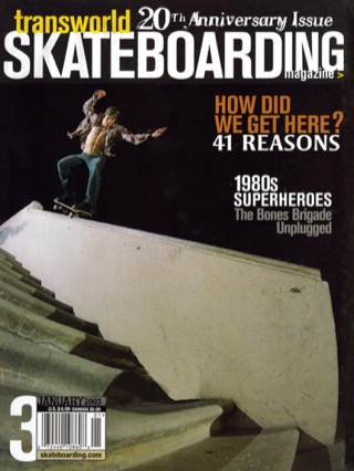 covers - Transworld, January 2003