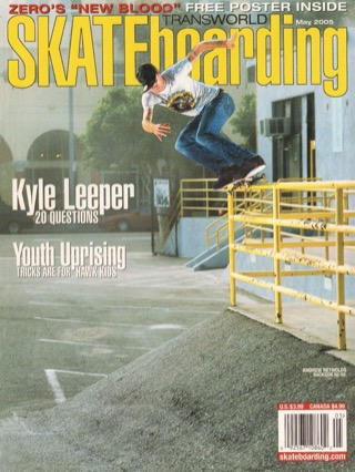 covers - Transworld, May 2005