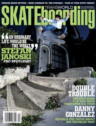 covers - Transworld, April 2006