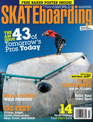 covers - Transworld, July 2006